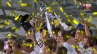 A festa do Real Madrid pelo 34.º título de campeão