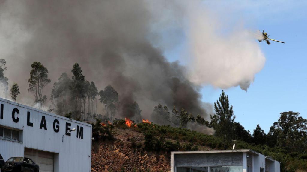 Incêndio em Sobrado, Valongo