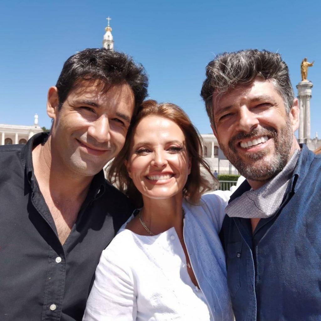 Cristina Ferreira com João Patrício e André
