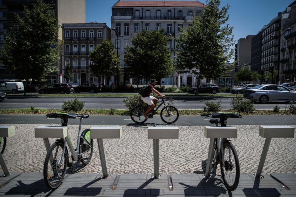 Rede de bicicletas Gira