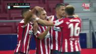 Koke marcou o golo do Atlético Madrid à Real Sociedad