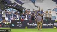 Festa de campeão do FC Porto