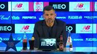 Conceição explica substituição de Fábio Vieira