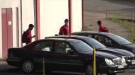 Jogadores do Desp. Aves chegam ao jogo com o Benfica nos próprios carros