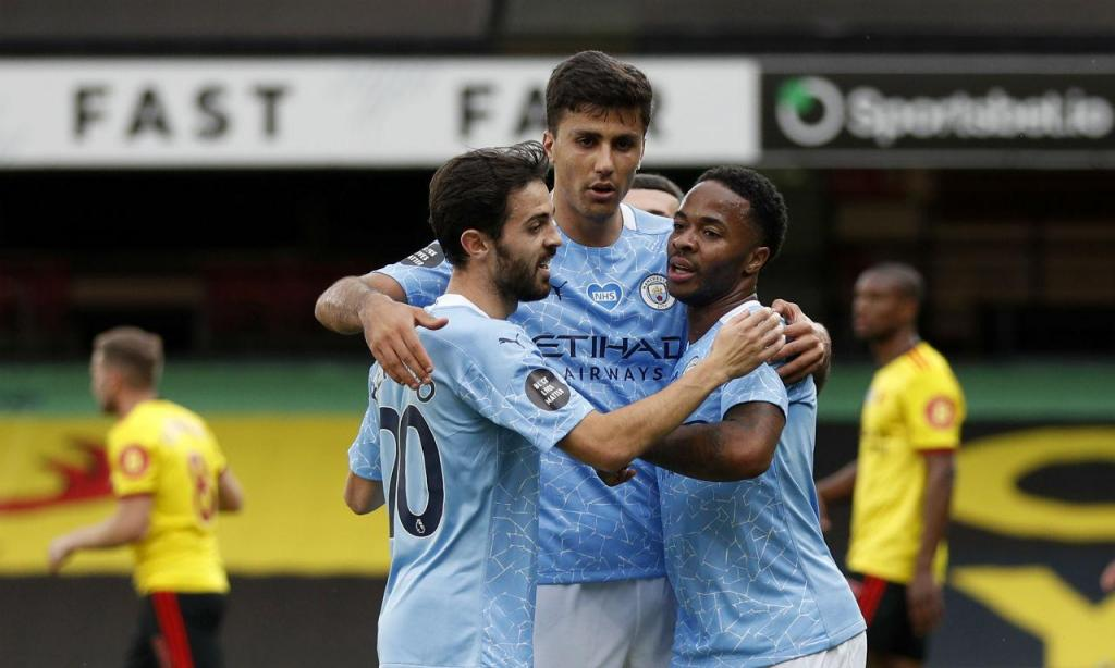 Watford-Manchester City (AP)
