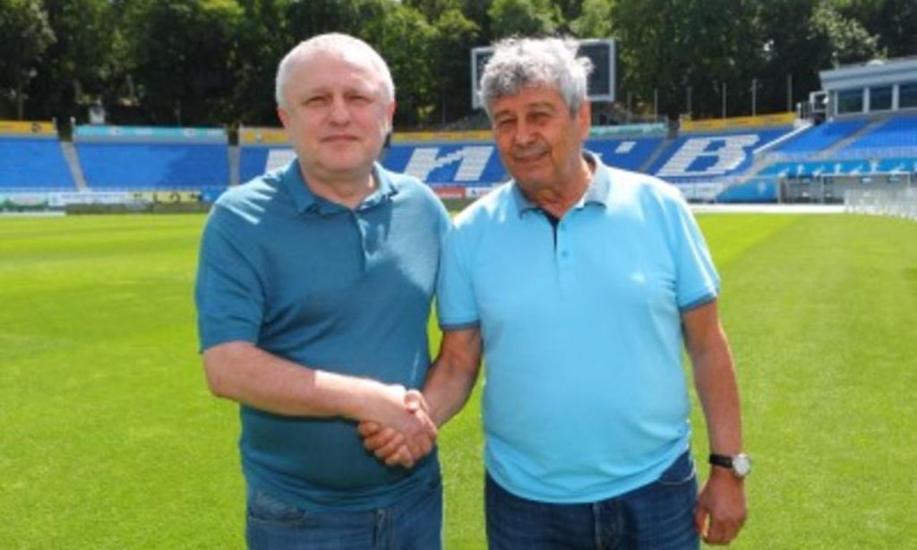 Mircea Lucescu no Dinamo Kiev