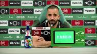 «Não quero ser o treinador que vem para aqui defender-se»