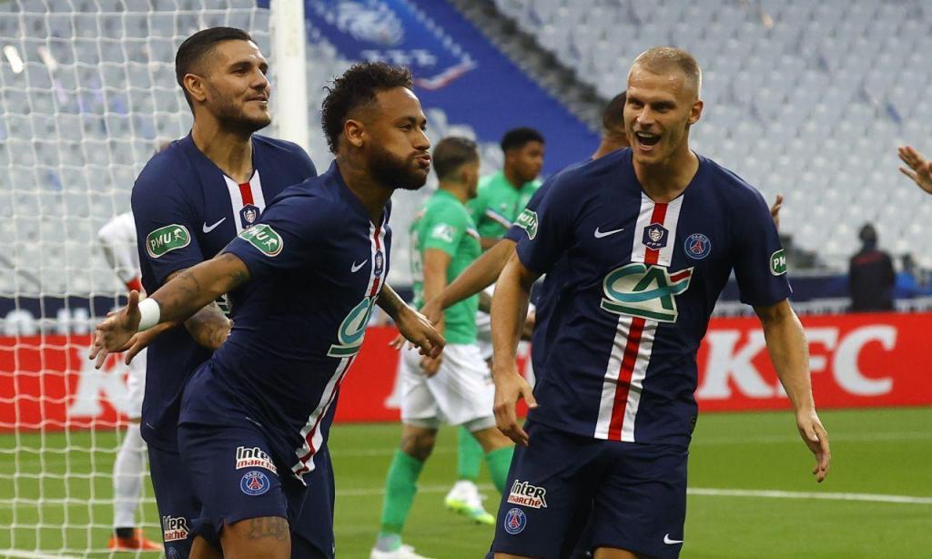 PSG-Saint-Étienne (Lusa)