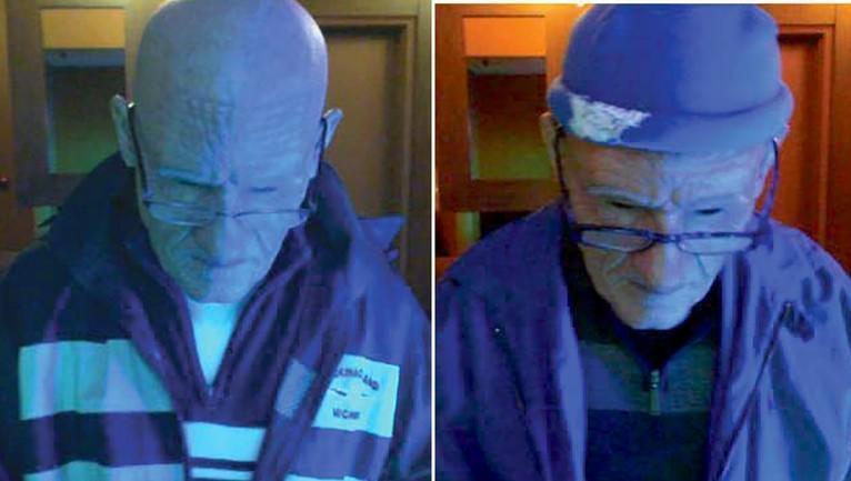 Homem disfarça-se de idoso com máscara e rouba 100.000 dólares em casinos