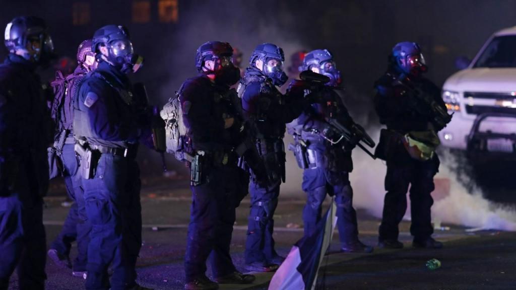 Polícia em Portland, Estados Unidos