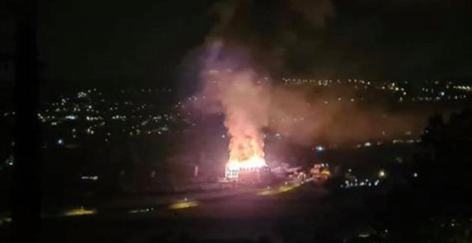 Incêndio no seminário de Santa Teresinha
