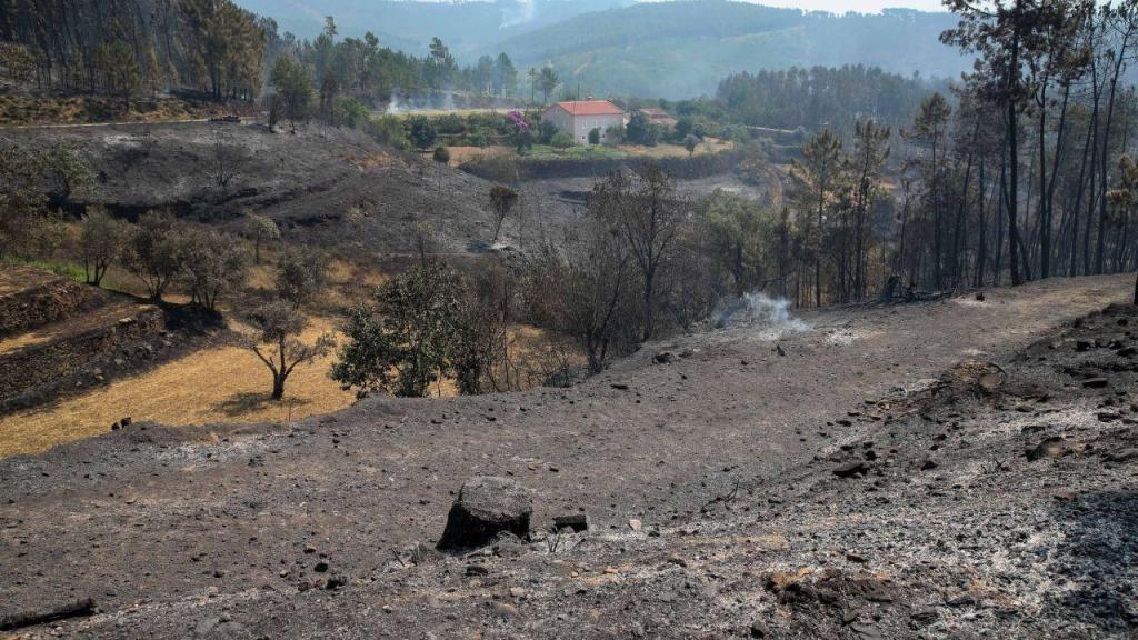 Incêndio florestal de Oleiros