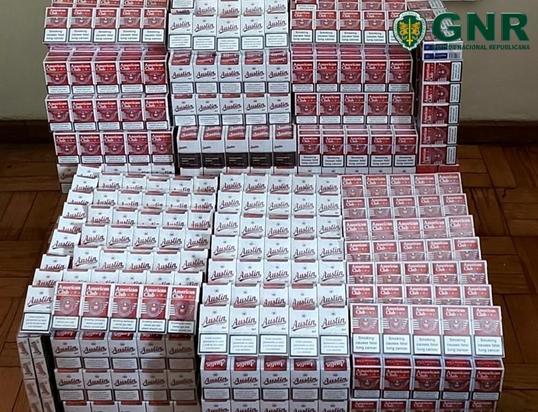 GNR apreende 40 mil cigarros contrafeitos no Porto