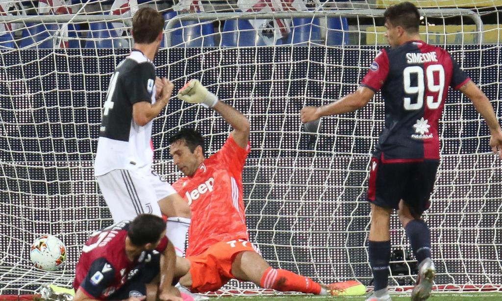 Cagliari-Juventus (Fabio Murru/AP)