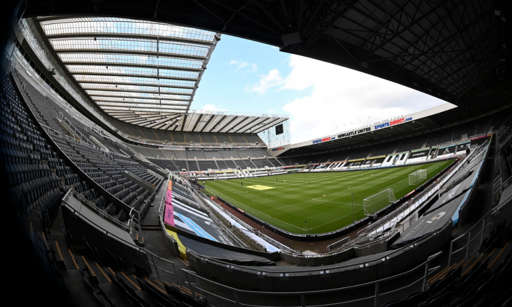 St. James Park, estádio do Newcastle (AP/Laurence Griffiths)