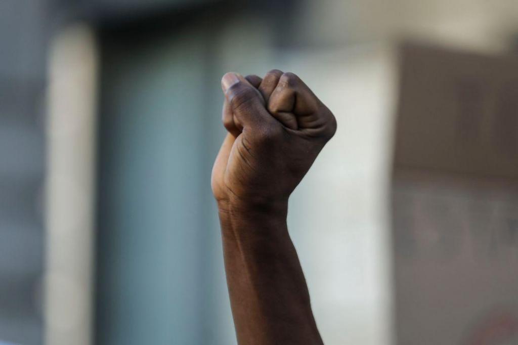 Manifestação juntou 300 pessoas em memória de Bruno Candé