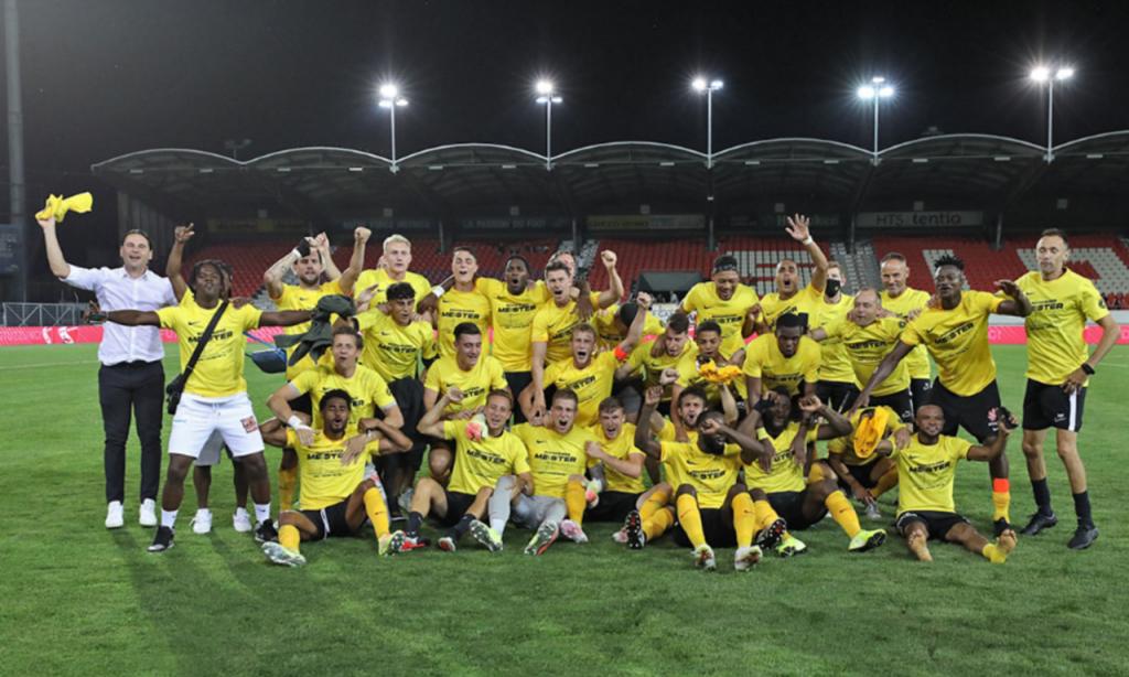 Young Boys é campeão da Suíça (Foto: BSC Young Boys)