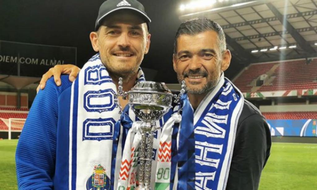 Casillas e Sérgio Conceição (instagram Iker)
