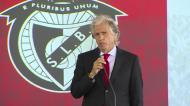 «Não sou o mesmo: sou muito mais treinador do que era quando saí do Benfica»