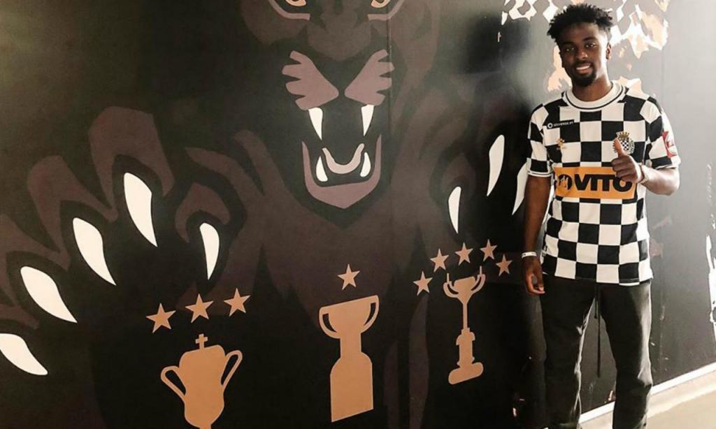 Angel Gomes (Foto: Boavista FC)