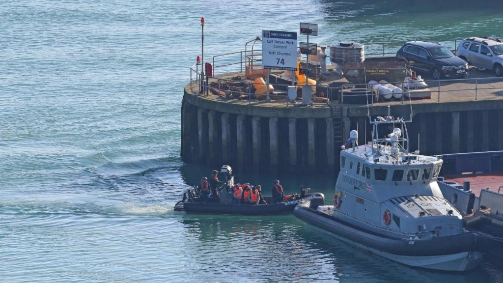 Migrantes no Canal da Mancha