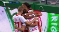 Leipzig encosta o Atlético às cordas e Olmo faz o primeiro em Alvalade