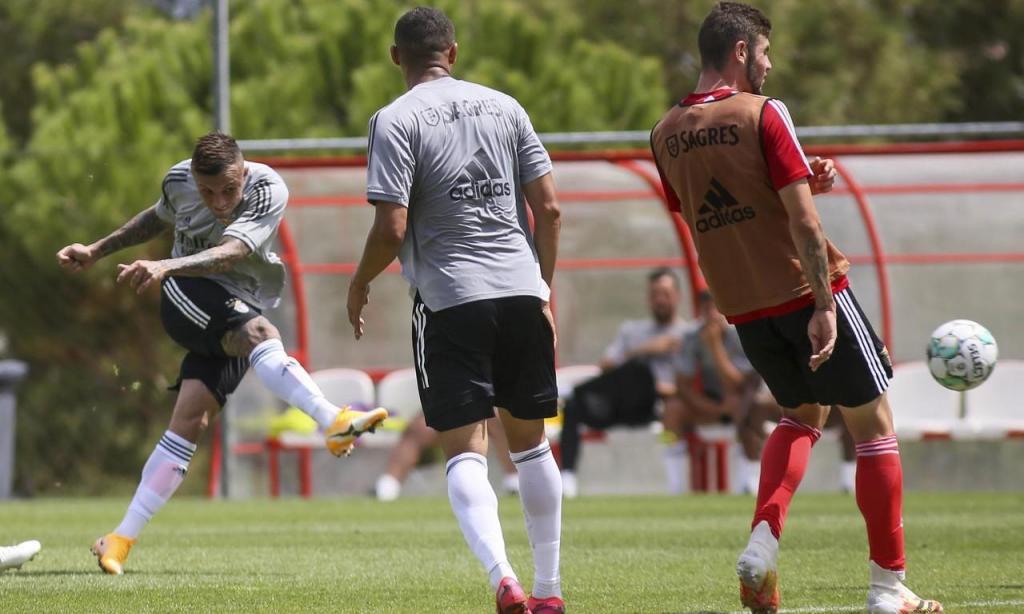 Treino Benfica (FOTO: SL Benfica)