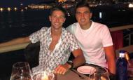 Vietto e Battaglia de férias (instagram)