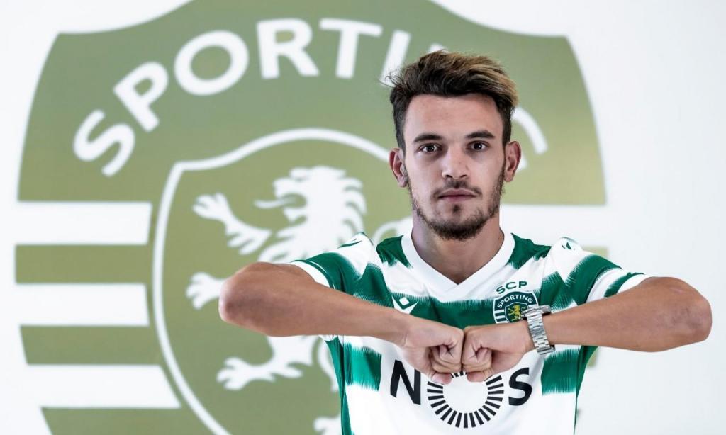 Pedro Gonçalves é reforço leonino (fotos: SCP)