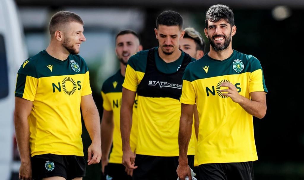 Treino do Sporting (19 agosto)