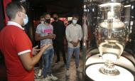 Reforços do Benfica visitaram Museu Cosme Damião (fotos SLB)