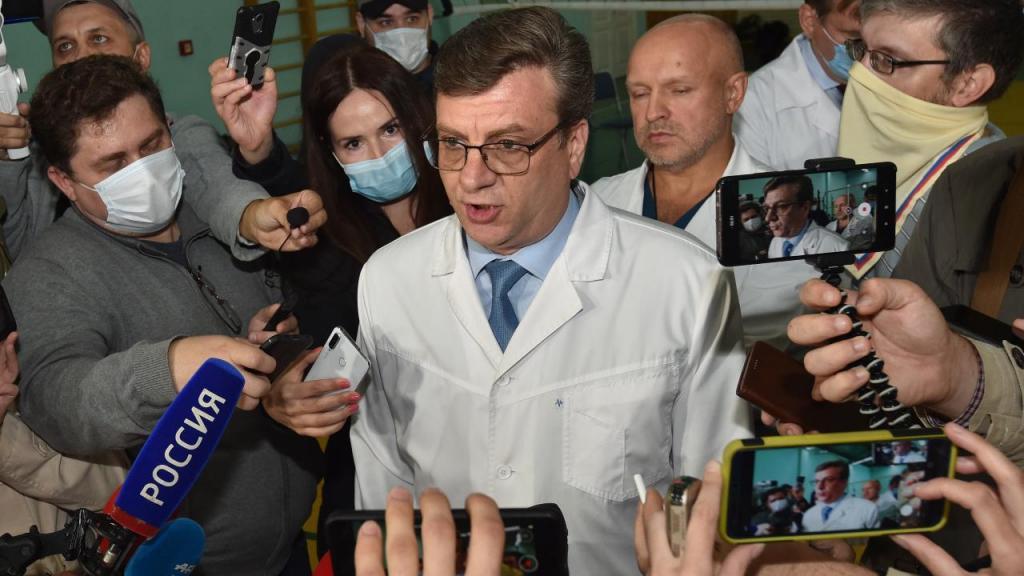 Médicos de Alexei Navalny