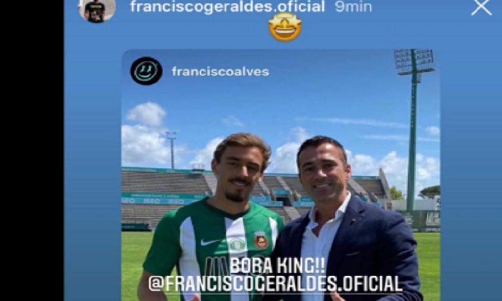 Francisco Geraldes (Instagram)