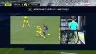 Expulsão polémica logo aos 20 minutos no regresso da liga francesa