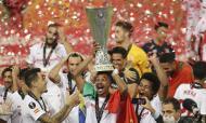 Momentos do futebol internacional 2020: Sevilha festeja na Liga Europa pela sexta vez