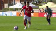 Magia de Luís Lopes e frieza de Tiago Dantas no 3-0 do Benfica