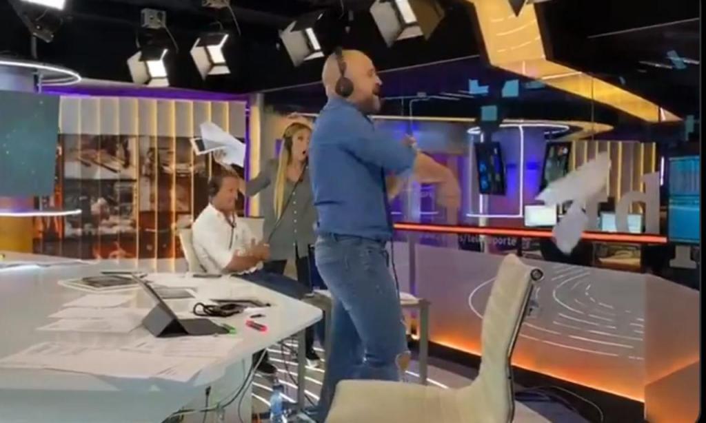 Frustração na redação da TVE com a vitória de Miguel Oliveira