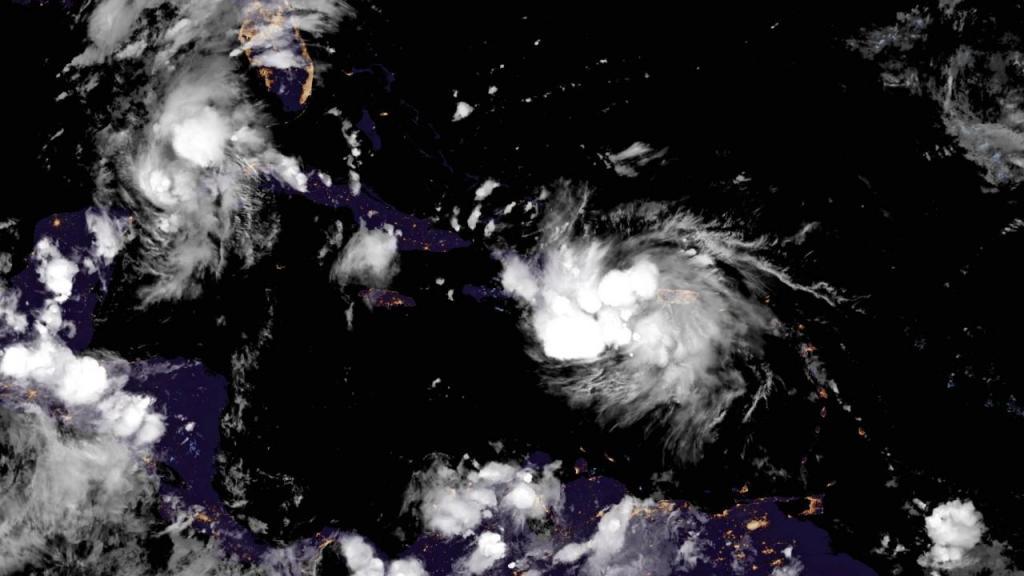 Tempestade Marco passa a furacão e pode atingir os Estados Unidos