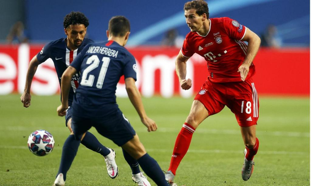 PSG-Bayern (fotos EPA/Manu Fernandez)