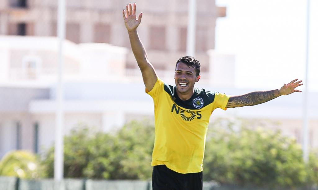 Treino do Sporting, 24 agosto (Foto: Sporting CP)