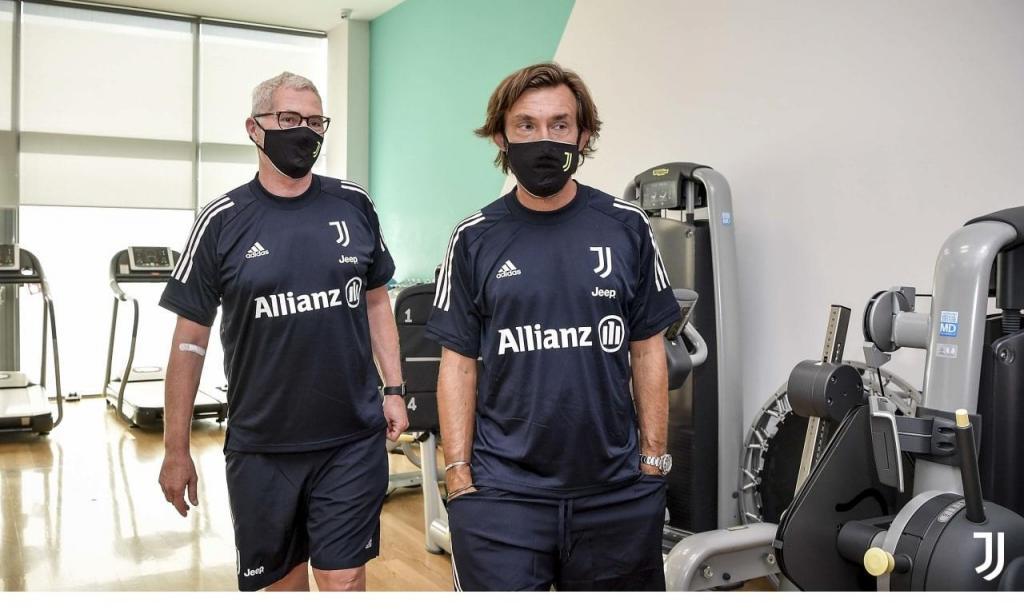O regresso da Juventus aos treinos (Juventus)