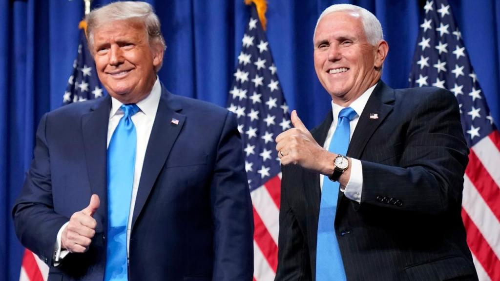 Donald Trump e Mike Pence confirmados como candidatos do Partido Republicano às presidenciais dos Estados Unidos