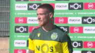 Sporting: Antunes fez balanço dos primeiros dias de trabalho