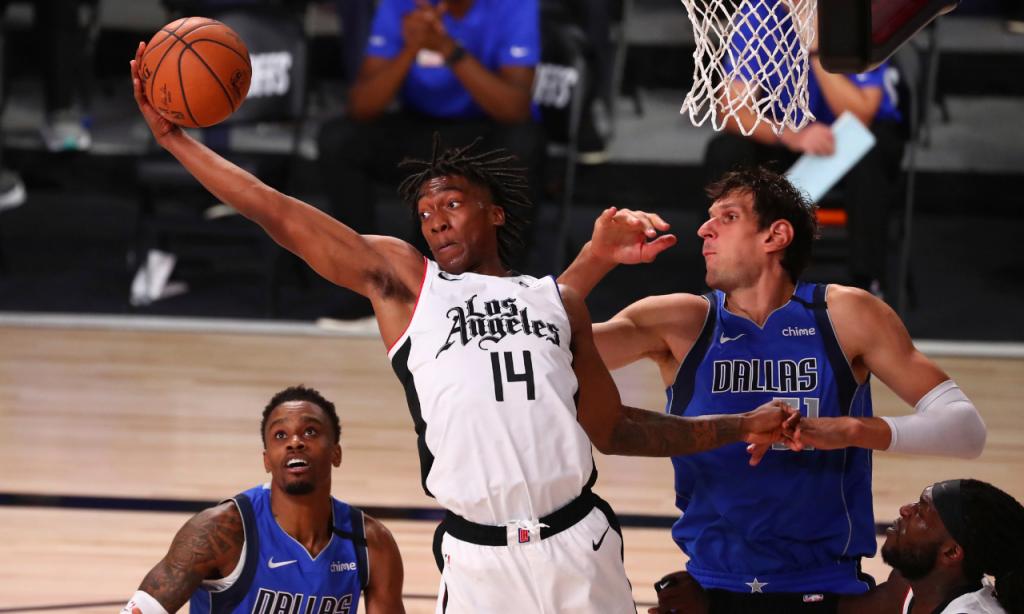 NBA, jogo 5: Los Angeles Clippers-Dallas Mavericks (AP/Kim Klement)