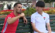 Hugo Vieira dá aula de português ao japonês Fujimoto (Gil Vicente)