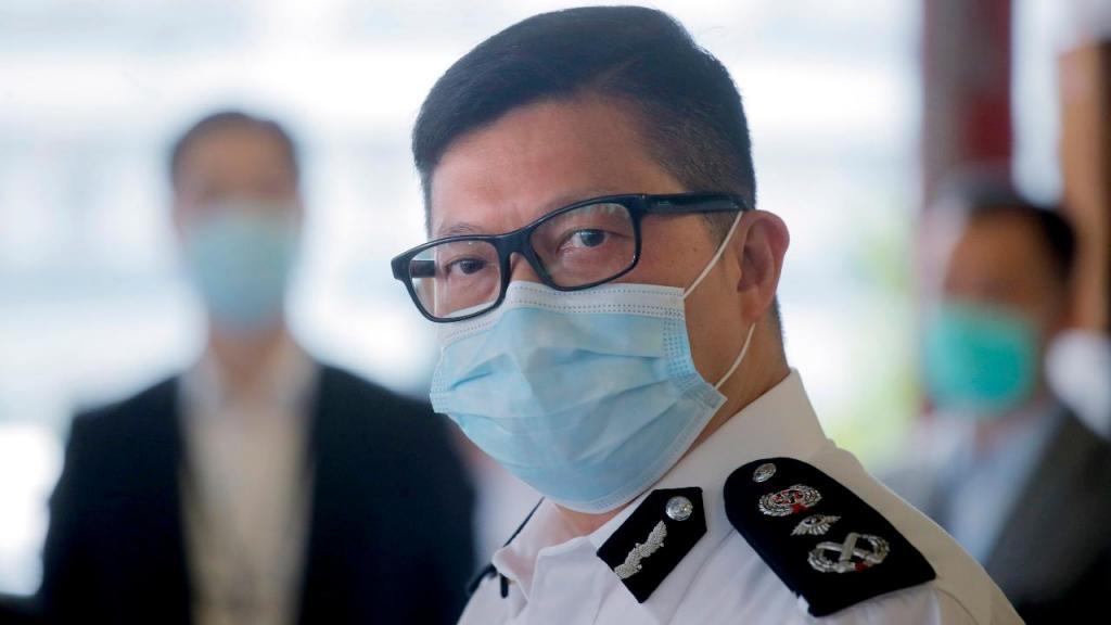 Chris Tang, comissário da polícia de Hong Kong