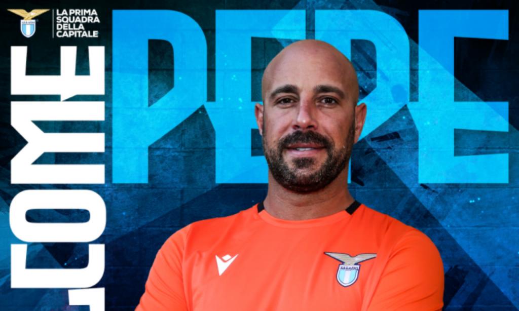 Pepe Reina (twitter Lazio)