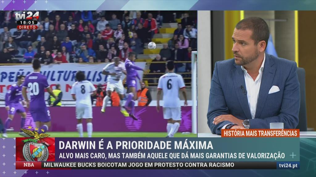 Darwin Nuñez, Mariano Díaz e Carlos Fernández: Jorge Jesus quer dois dos três