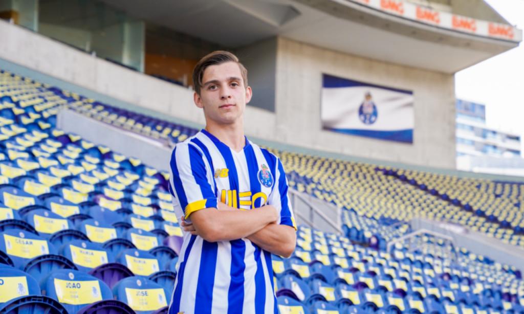 Francisco Conceição, extremo do FC Porto