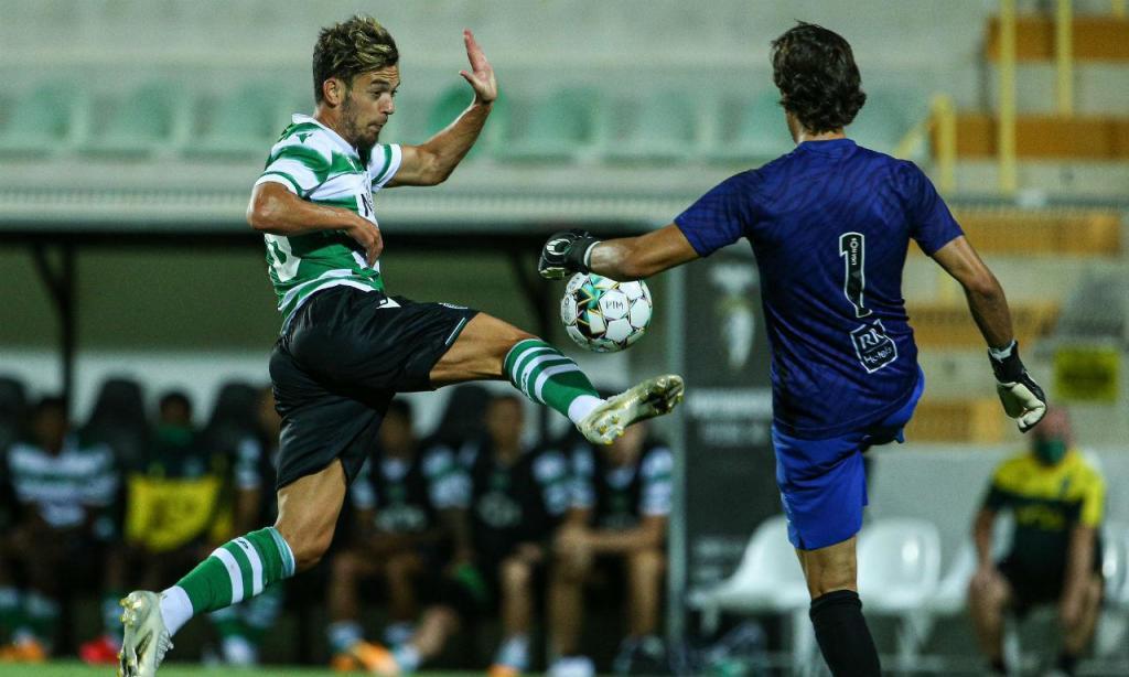 Sporting venceu Portimonense por 2-1 (fotos SCP)